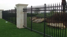 Durable Decorative Metal Modern Gates and Steel Fence Design
