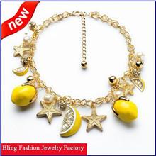 Fashion Brand Fruit Necklace Set Pendant Necklaces