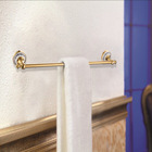 Gold Plated Hot Selling Solid Brass Bathroom Accessories BA001