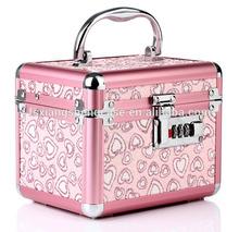 new design small aluminum cosmetic case ,aluminum jewelry box