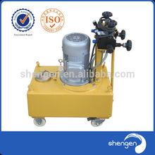 Hydraulic high pressure manual oil pump