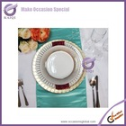 18012-1 2014 wholesale ceramic white dinner plate infrared ceramic heater plate