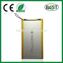 polymer lithium battery 3.7V 4000mAh