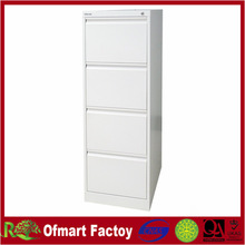 China supplier offer white metal 4 drawers tall storage cabinet