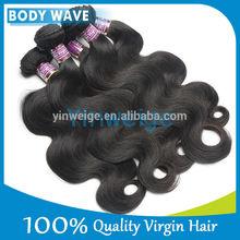 Best selling popular black virgin russian hair weaving