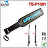 Saful Wholesale handheld security metal detector Sound mode portable security scanner TS--P1001 food metal detector