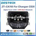 Oem usine zestech chinois. voiture lecteur multimédia audio de voiture pour changan cs35 avec 7 pouces écran