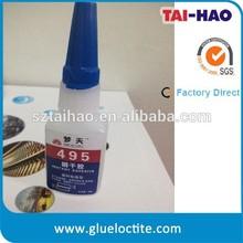 Plastic adhesive super bonder instant glue