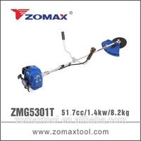 ZMG 5301T 52cc 1.3kw mental blade gasoline industrial brushcutters