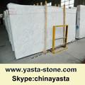 Italiano mármol blanco de la losa Bianco Carrara
