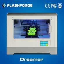 Flashforge 3d printer dual extruder ABS PLA filament WIFI connection 3d printer rapid prototyping
