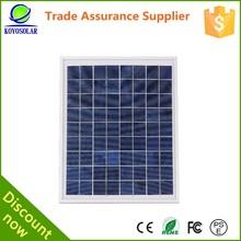 high quality 55 watt solar panel price list