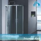 ACOC2804CL easy clean top sell aluminum corner bathroom shower
