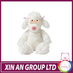EN71/ASTM New design stuffed animal white dog