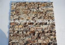Natural Piebald Sandstone Multicolor Sandstone Ledge Stone Veneers,Rusty garden slate culture stone