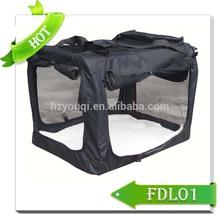 Comfortable Fabric Pet Crate Dog bag carrier