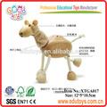 educacional crianças animal cavalo de madeira brinquedos para crianças