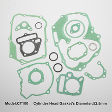 CT100 for scooter full gasket