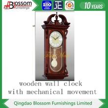 wood diy pendulum wall clock