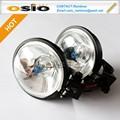 3 rotonda pollici 87 fendinebbia set auto sigillati fascio lampada alogena h3 con supporto
