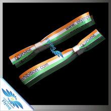 2015 Satin ONE-OFF Bracelets / Promotional Gift For Design Custom Print Ribbon