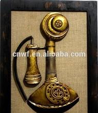 China ancient hand telephone iron / iron painting decorative painting