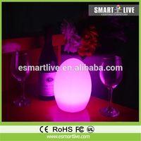 new fashion led decorative table light, mobile control music player nightlight, multi functions plasma night light