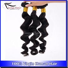 Factory wholesale 6A grade natural color Peruvian Jerry Curl Hair