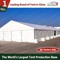 Alumínio estruturais da barraca, semi- permanente tenda para o armazém
