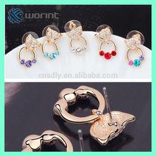 2014 fashion fox ears and tail,elegant earrings