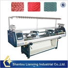 Commercial auto flat knitting machine