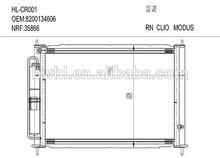 CLIO MODUS radiator condenser 8200134606/149953/289194/552787 , Air Conditioning Condenser Manufacturer