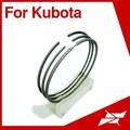 Para Kubota fazenda trator D722 peças de motor diesel rik anel de pistão