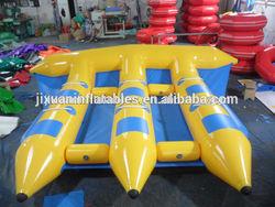 0.9mm PVC water fly fish/inflatable flyfish banana boat