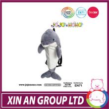 ICTI/ASTM/EN71 factory hot selling grey color plush dolphin