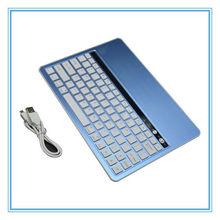 Bluetooth Wireless Keyboard for Apple iPad 2/3/4/5 iMac PC iphone& ipad mini