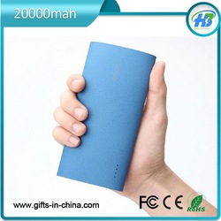 Free sample mobile power bank 20000mah
