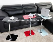 modren chrome plated legs coffee table