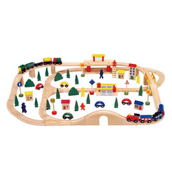 Wooden Toy Train Tracks With Good Price & Good Quantity,classic kid wooden train track,wooden track train toy WJ276064
