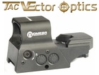 Vector Optics Premium Ultra High End 8 Reticle Solar Power Red & NV Combat Red Dot Sight