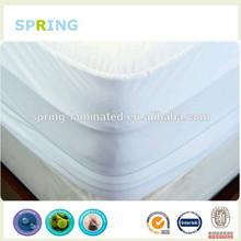 Terry cloth surface Hypoallergenic Waterproof Microfiber BedBug Zipper Mattress Cover Protector