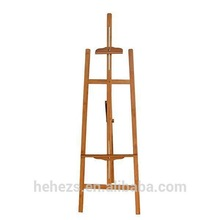 China supplier bamboo advertising easel for flowers
