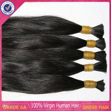 100% Unprocessed Virgin Hair,Natural Color Silky Straight Virgin Uzbek Hair Bulk,High Quality Virgin Uzbek Hair