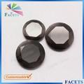 sfaccettature gemme sintetiche rotonda e piatta di vetro gemma perle nere nomi di pietre preziose