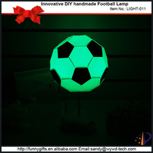 Innovative football design delicate night lamps for kids