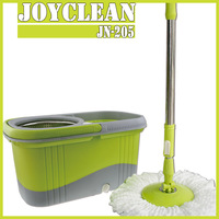 Joyclean JN-205 360 Rotating Cyclonic Spin Microfiber Mop With Stainless Steel Magic Dewater Basket