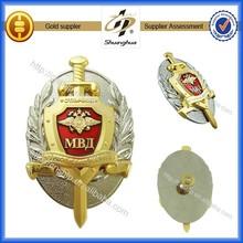 2015 high quality metal military cap badge