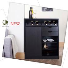 Handmade wooden wine rack