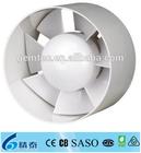 4-5-6 Inch Round-shaped Plastic Mini Bathroom Extractor Fan