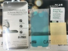 Explosion-Proof Tempered Glass Screen Protector Film For iPhone 6 plus 5 5S 4 4S Z Z1 Z3 S5MINI Galaxy alpha G8508
